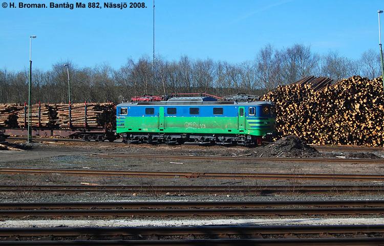 Bantåg Ma 882