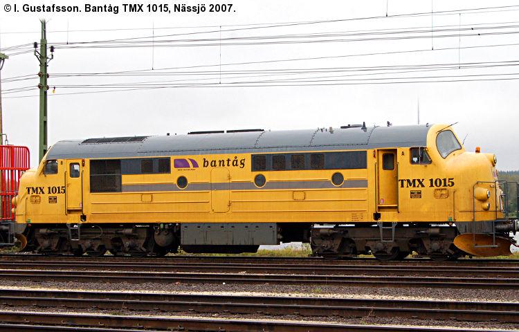 Bantåg TMX 1015