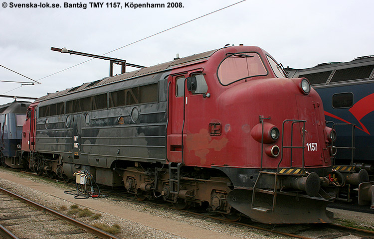 Bantåg TMY 1157