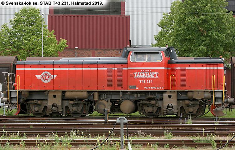STAB T43 231