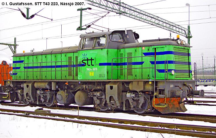 STT T43 223