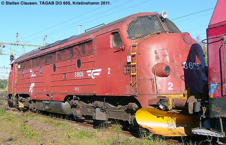 TÅGAB Di3 605