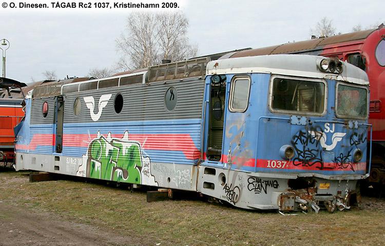 TÅGAB Rc2 1037