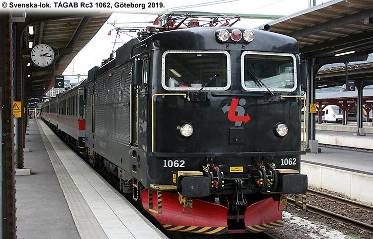 TÅGAB Rc3 1062