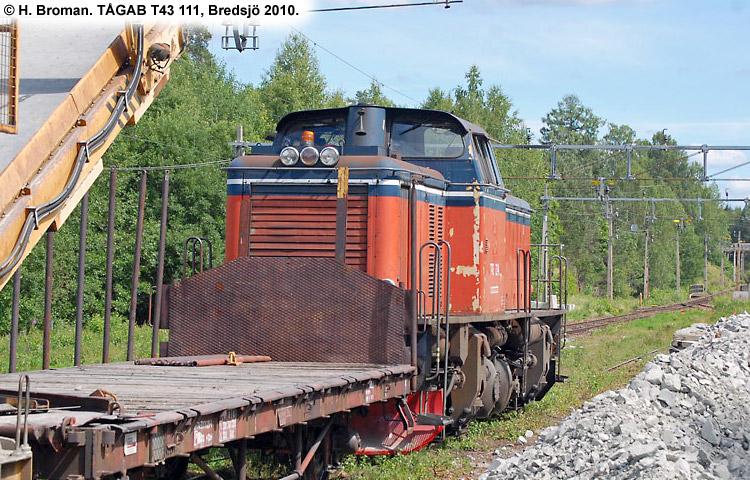 TÅGAB T43 111