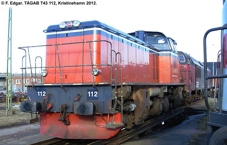 TÅGAB T43 112