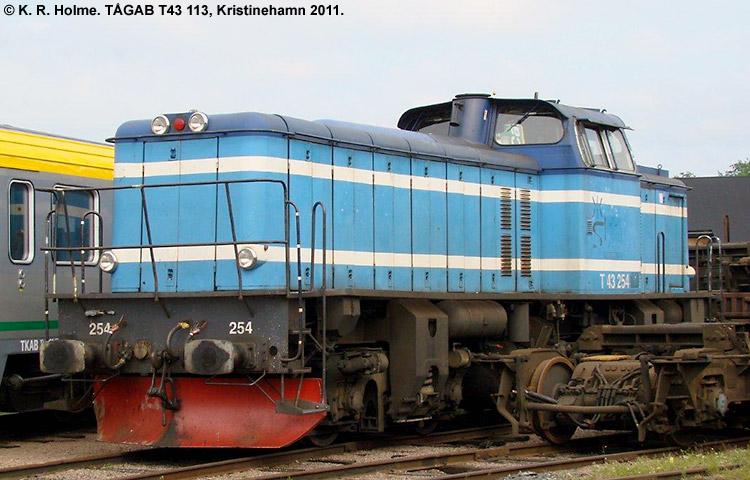 TÅGAB T43 113