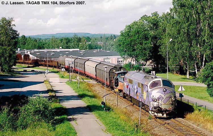 TÅGAB TMX 104