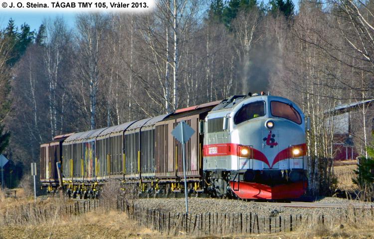TÅGAB TMY 105