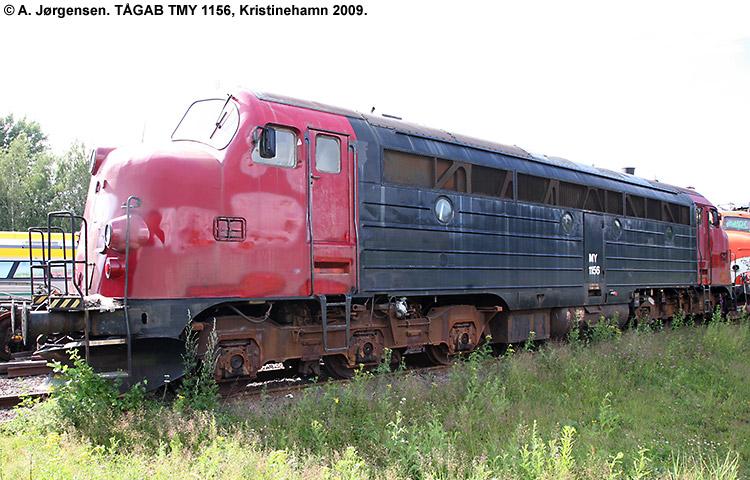 TÅGAB TMY 1156