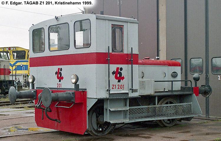 TÅGAB Z1 201