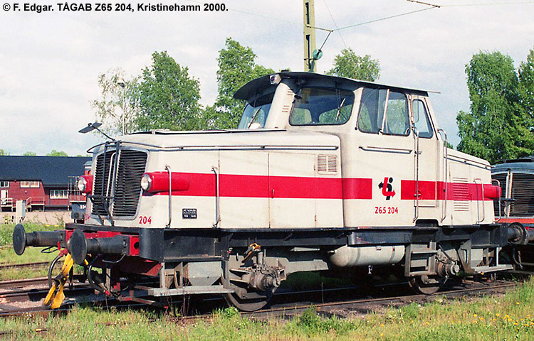 TÅGAB Z65 204