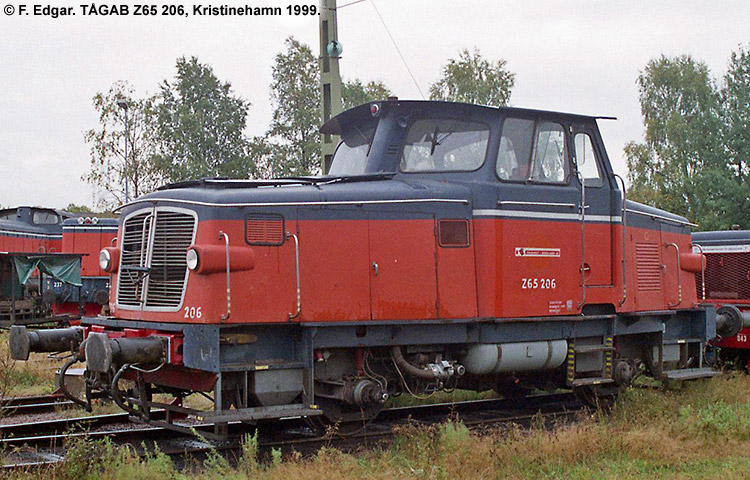TÅGAB Z65 206