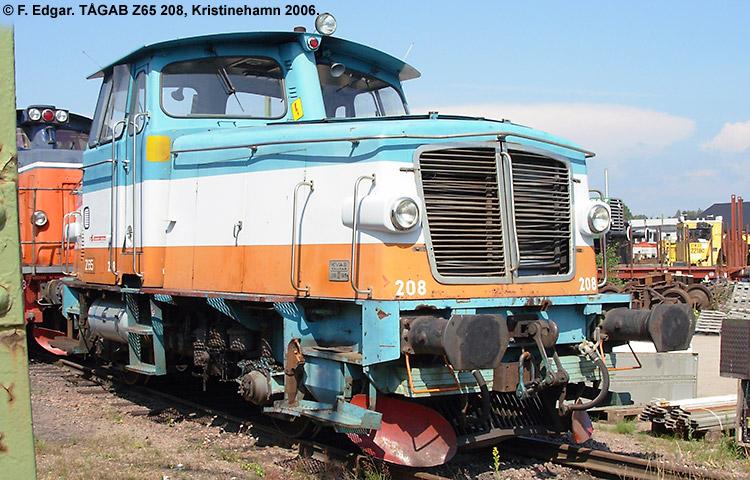 TÅGAB Z65 208
