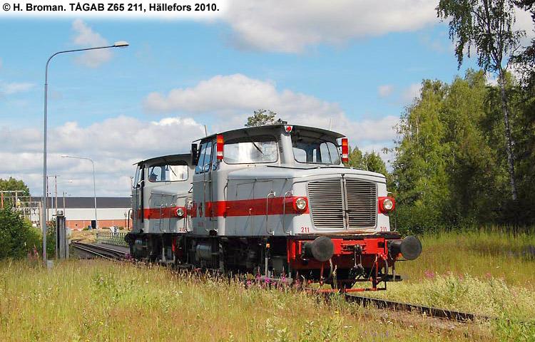TÅGAB Z65 211