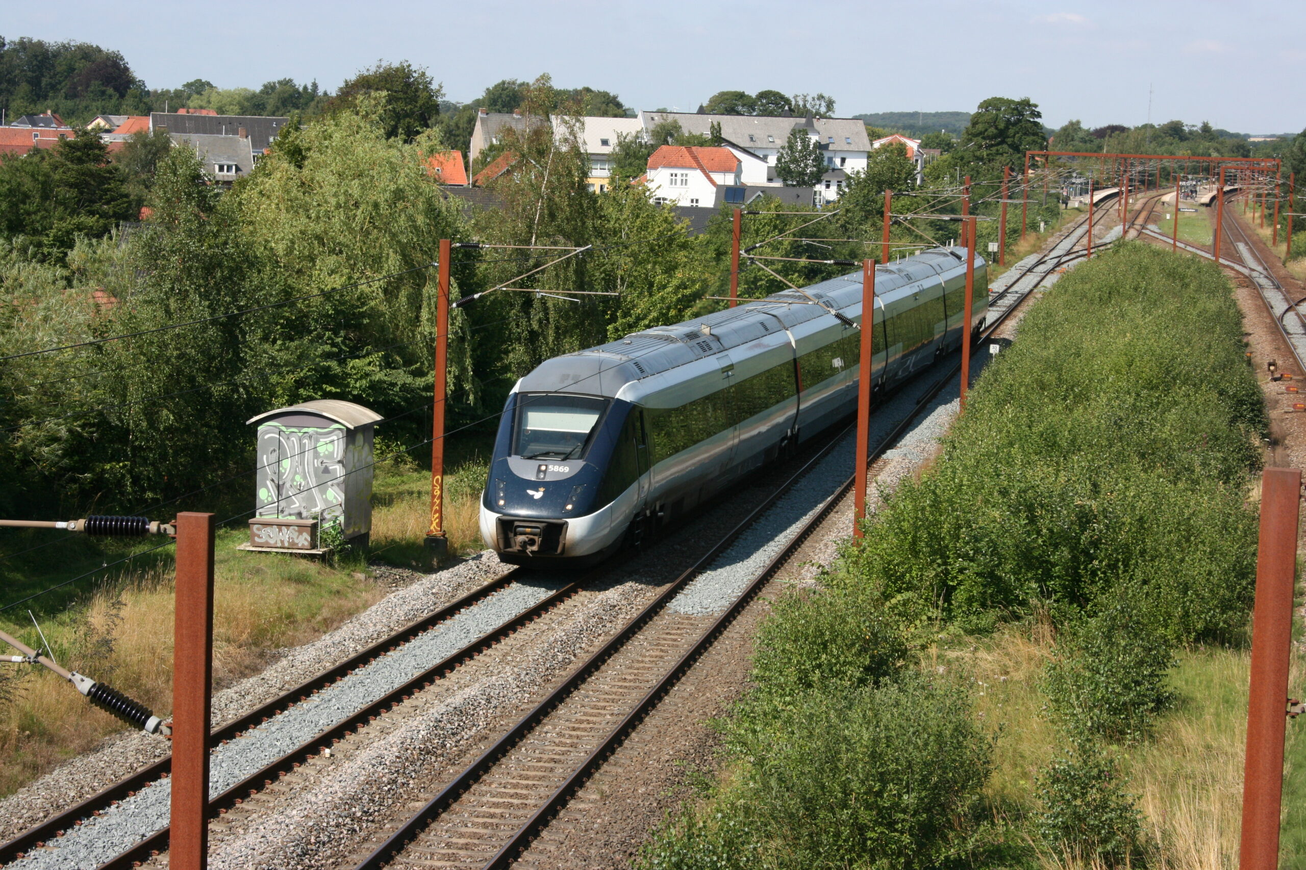 Rejs med tog i Danmark